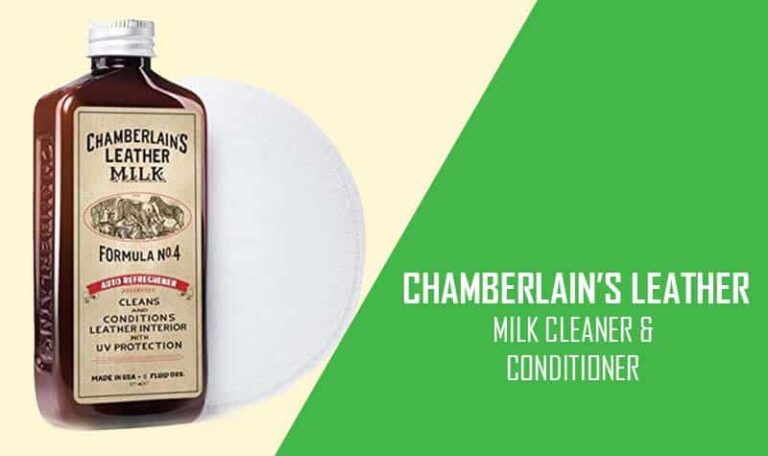 Chamberlain's Leather Milk Best Car Leather Cleaner and Conditioner