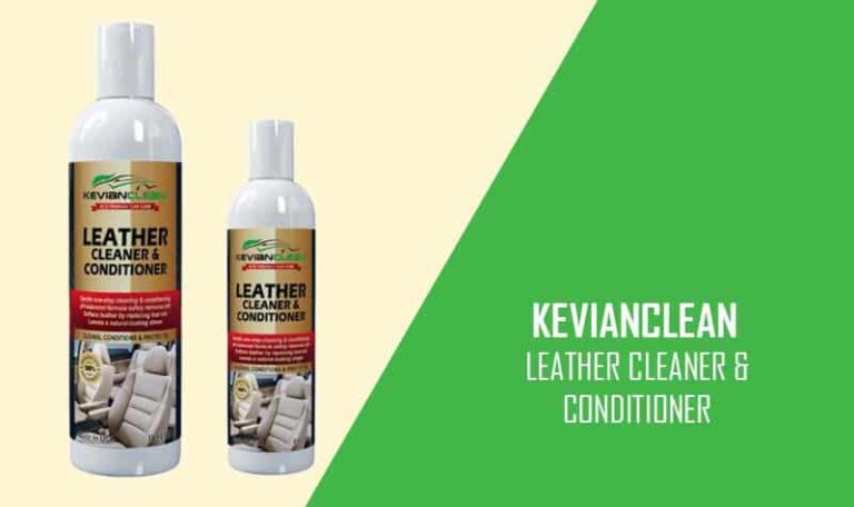 KevianClean Best Car Leather Cleaner and Conditioner