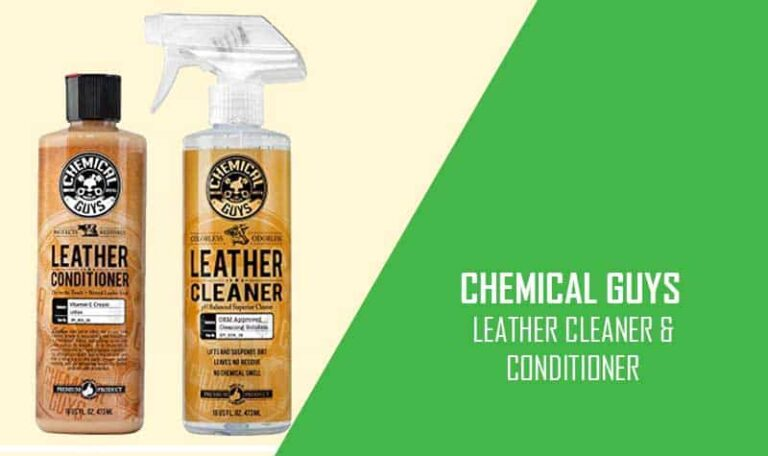 Chemical Guys Best Car Leather Cleaner and Conditioner